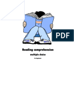 Reading Comprehension Beguinners