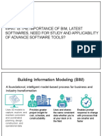 BIM and latest architectural software