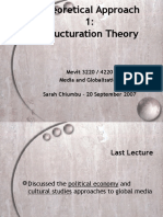 Strructuration Theory