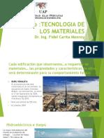TMclase 1 Tecnologia de Materiales 2015 II