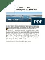 Tata Steel 2016