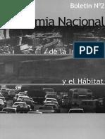 Academia Nacional de Ingenieria y El Habitat - Boletin_2