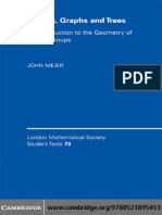 (London Mathematical Society Student Texts) John Meier-Groups, Graphs and Trees_ an Introduction to the Geometry of Infinite Groups-Cambridge University Press (2008)
