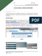 Manual Cargos de Cuenta