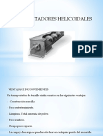 TRANSPORTADORES HELICIDALES