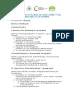 GSBPC Business Plan Template Simplified (1)