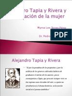 Alejandro Tapia y Rivera y la Educacion de la Mujer