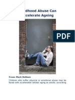 Childhood Abuse Can Accelerate Ageing