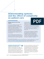 The Effect of System Complexity on Patient Safety