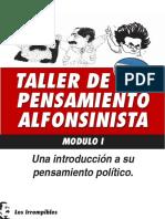 Taller Pensamiento Alfonsinista Modulo i Apunte