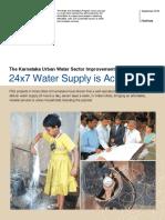 WSP Karnataka Water Supply