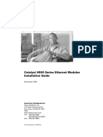 Cisco 6500 Series Module Installation Guide Book