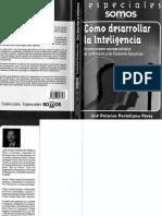 José Antonio Portellano. Cómo desarrollar la inteligencia. Entrenamiento neuropsicológico de la atención y las funciones ejecutivas..pdf