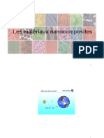 Matériaux Nanocomposites 2016