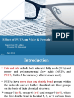 Effect of PUFA on Reproduction