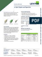 Leviton EcoLeviton_Economy_Series_Fiber_Pigtailsnomy Series Fiber Pigtails and Kits