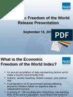 Economic Freedom of the World 2016 Presentation