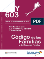 Ley 603 Código de Las Familias y Del Proceso Familiar
