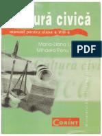 Cultura Civica Manual Pentru Clasa a VIII A