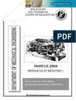 J3010_Mechanics of Machines 1