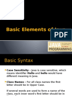 JAVA Basics Part1