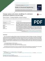Damage Analysis and Seismic Retrofitting of a Continuous Prestressed Reinforced Concrete Bridge (Caterino, Et Al. 2014)