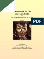 640. Discourse on the Silavanta_Sutta - Mahasi Sayadaw-1967
