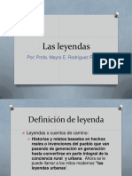 Las Leyendas Version Para Imprimir