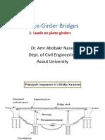 1-Plate Girder Design-Loads on plate girders.pdf