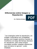 diferencias entre Imagen y Reputacion