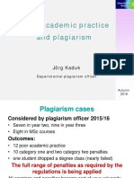 Plagiarism 2016