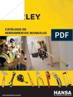 guia de herramientas Stanley