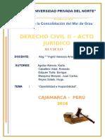 Trabajo Final - Derecho Civil