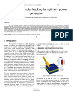 Researchpaper Time Operated Solar Tracking for Optimum Power Generation