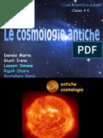 Le Cosmologie Antiche