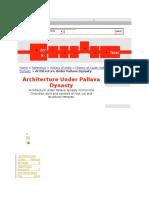 Pallava Architecture