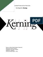 Kerning