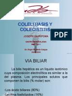 Colelitiasis y Colecistitis Gastroenterología