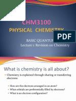 1.1 CHM3100 Basic Quantum Theory-1