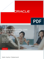 Database Security com Oracle Enterprise