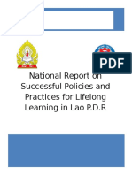 report - lao pdr