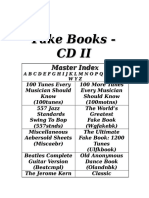 The Fakebook CD II