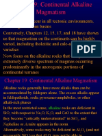 Chapter 19 - Continental Alkaline Magmatism
