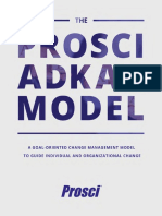 The Prosci ADKAR Model eBook