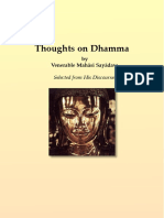 732. Thoughts on the Dhamma - Mahasi Sayadaw