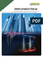 Seismic Isolation Product Line Up 2013-12.........Bridgestone