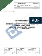 PROCEDIMIENTO TENDIDO DE CONDUCTOR Y CABLES  EHS-OPGW Ve 03.pdf