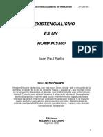 Ediciones Mediarte - El Existencialismo Es Un Humanismo-JPSartre (1)