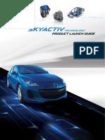 Skyactiv Product Launch Guide - En Final