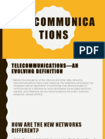 Chapter 5 Telecommunications